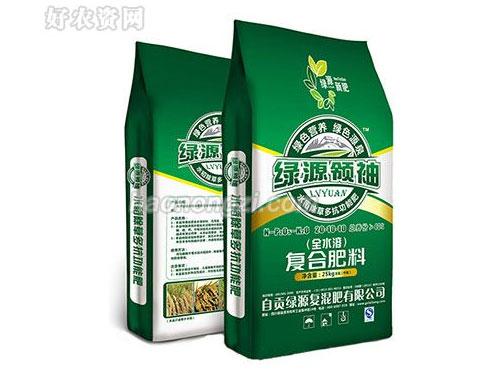 四川绿源新肥公司水稻除草多抗功能肥防除各种杂草、促进水稻生长