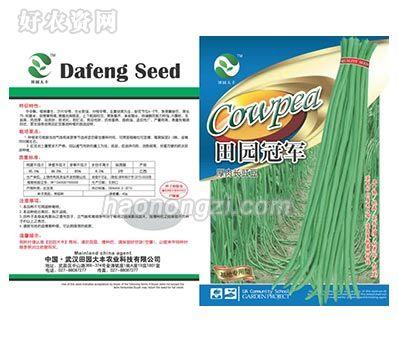豇豆类种子-田园冠军