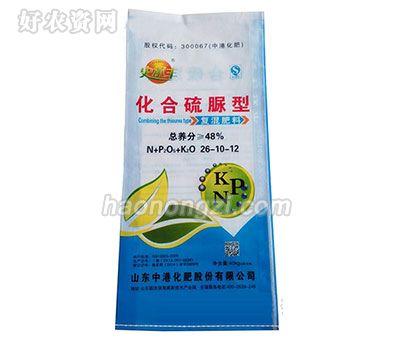48%化合硫脲型-26-10-12-复混肥-史尔丰-中港化肥