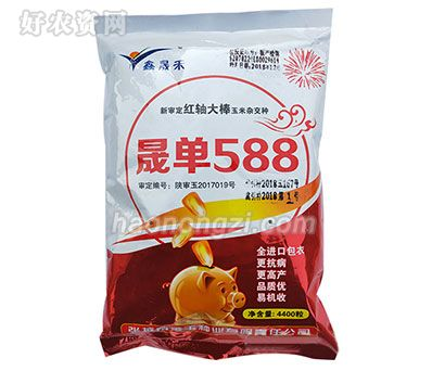 晟单588-玉米种子-郑州喜得粮