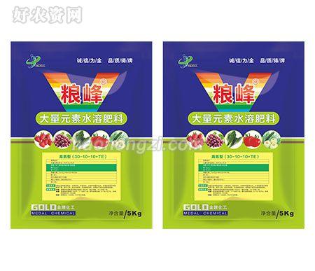 大量元素水溶肥料-粮峰-金牌化工-高氮型(30-10-10+TE)